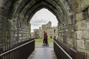 Caernarfon Castle Tunnel in Caernarfon Castle
