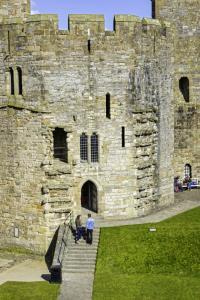 Caernarfon Castle Tower at caernarfon castle